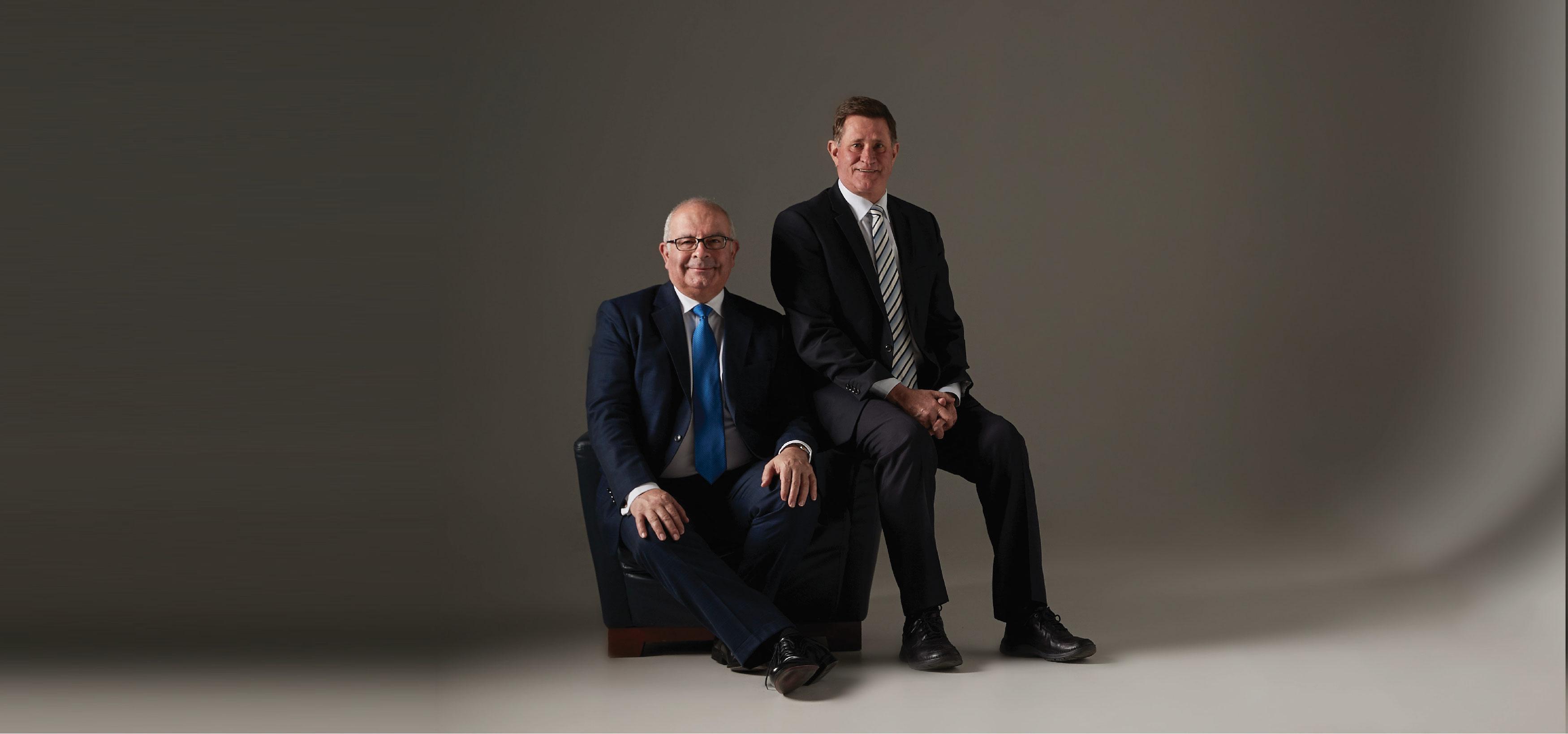 John Sinisgalli and Alan Foster